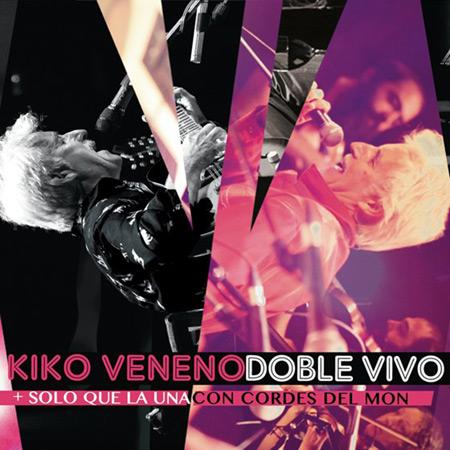 Portada del disco «Doble vivo» de Kiko Veneno.
