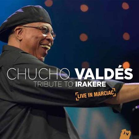 Portada del disco «Tributo a Irakere» de Chucho Valdés.