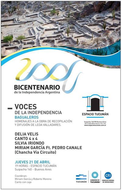 «Voces de la independencia: Bagualer@s», el legado de Leda Valladares.