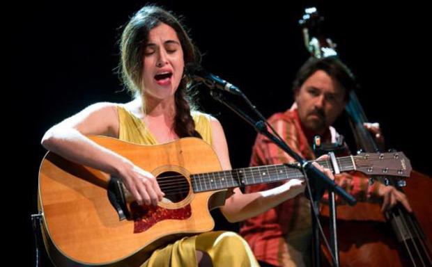 Sílvia Pérez Cruz en su concierto chileno. © Cortesía