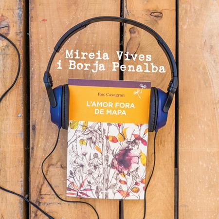 Portada del disco «L'amor fora de mapa» de Mireia Vives y Borja Penalba.