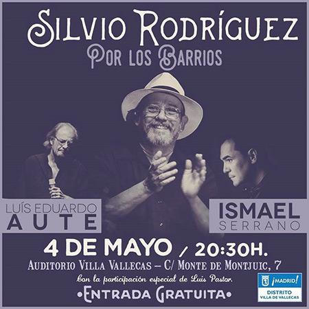 La «Gira por los Barrios» de Silvio recala en Vallecas (Madrid).