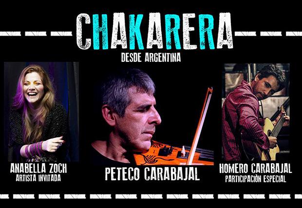 Peteco Carabajal, Anabella Zoch y Homero Cárpena llevan la chacarera a Europa.