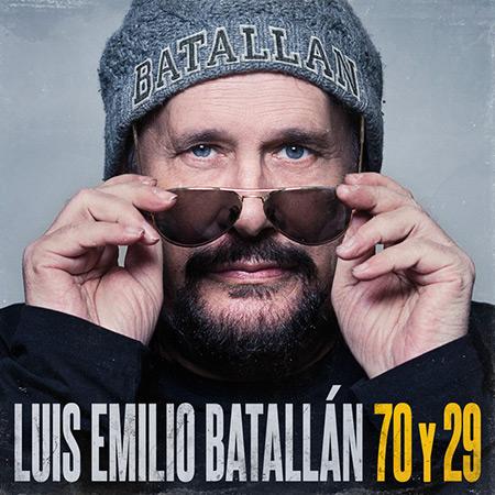 Portada del disco «70 y 29» de Luis Emilio Batallán.