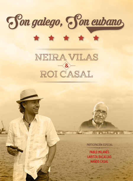Portada del disco «Son galego, Son cubano» de Roi Casal.