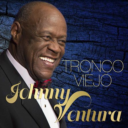 Portada del disco «Tronco Viejo» de Johnny Ventura.