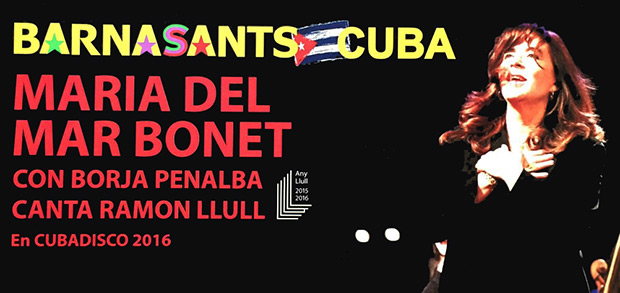 María del Mar Bonet en BarnaSants Cuba.