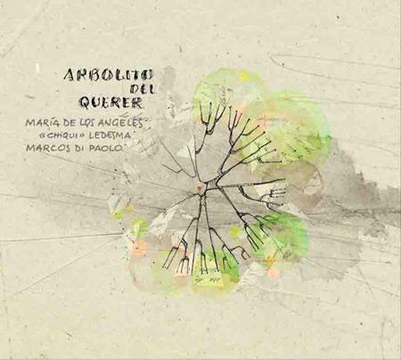 Portada del disco «Arbolito del querer» de Chiqui Ledesma y Marcos Di Paolo.