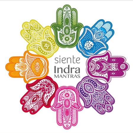 Portada del disco «Siente» de Indra Mantras.