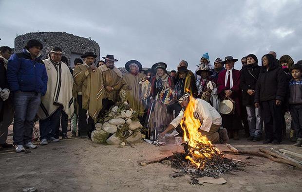 La apacheta. © Télam