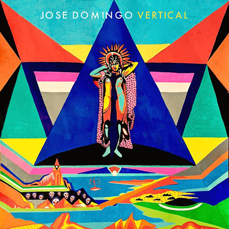 Portada del disco «Vertical» de Jose Domingo.