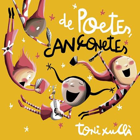 Portada del disco «De poetes, cançonetes» de Toni Xuclà.
