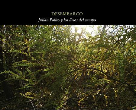 Portada del disco «Desembarco» de Julián Polito.