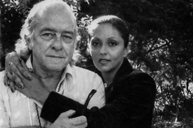 Maria Creuza con Vinícius de Moraes.