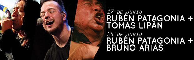 Rubén Patagonia recreará a los autores del norte y del sur argentino.