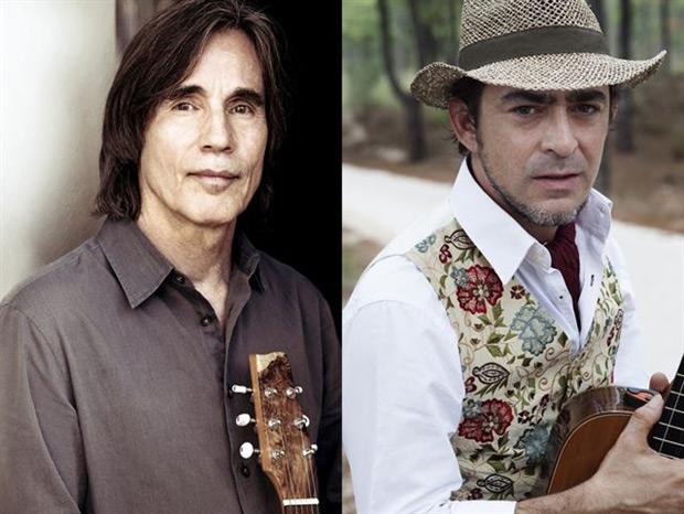 Jackson Browne y Raúl Rodríguez.