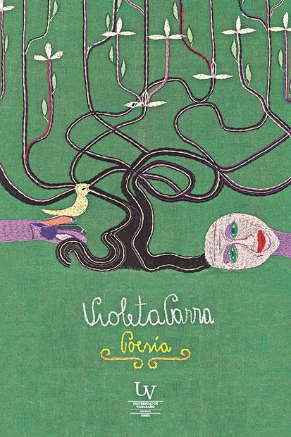 Portada del libro «Poesía» de Violeta Parra.