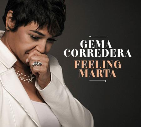 Portada del disco «Feeling Marta» de Gema Corredera.