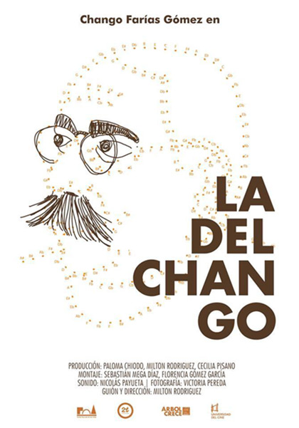 Cartel del documental «La del Chango» de Milton Rodríguez.