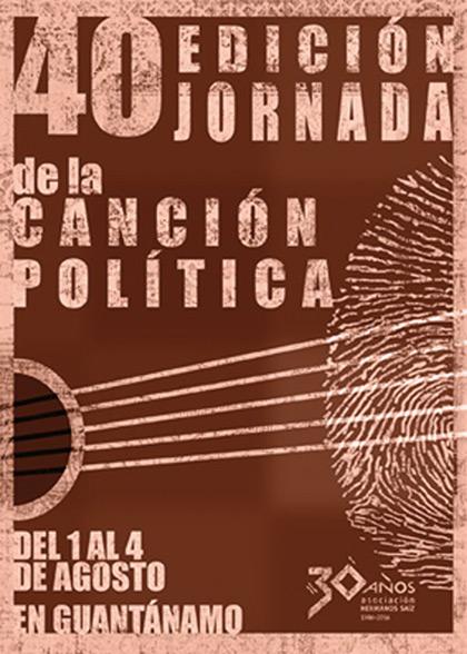 XL Jornada de la Canción Política en Guantánamo (Cuba) 2016.