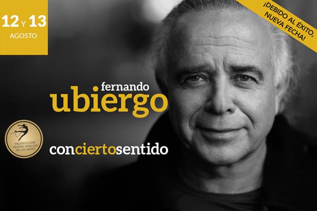 Fernando Ubiergo: «ConCierto Sentido».
