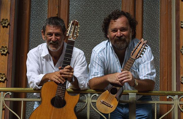 Raúl Malosetti y Rolando Goldman.