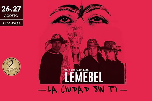 La Compañía Chilean Business presenta «La ciudad sin ti» con música de Manuel García.