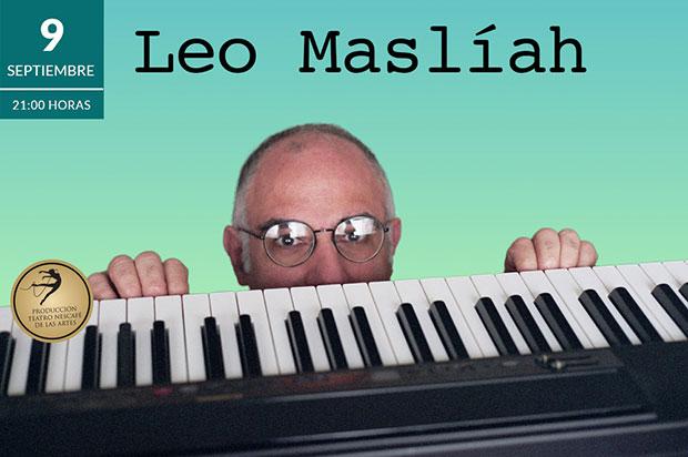 Leo Maslíah se presentará en Santiago de Chile.