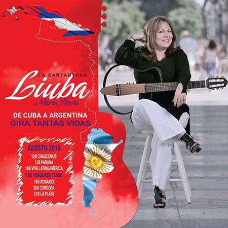 Liuba María Hevia en Argentina.