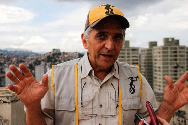 Armando Carías, uno de los sobrevivientes de este lamentable acontecimiento en el Río Orinoco. © Prensa Ministerio del Poder Popular para la Cultura Venezuela