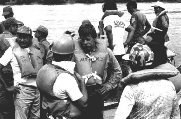 Armando Carías: «La tragedia del Grupo Madera fue una masacre fría y planificada». © Prensa Ministerio del Poder Popular para la Cultura Venezuela