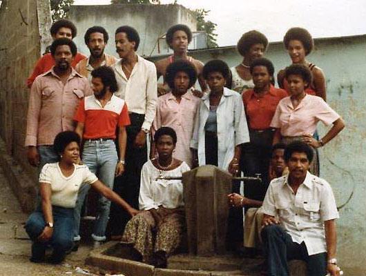 El grupo Madera. © Prensa Ministerio del Poder Popular para la Cultura Venezuela