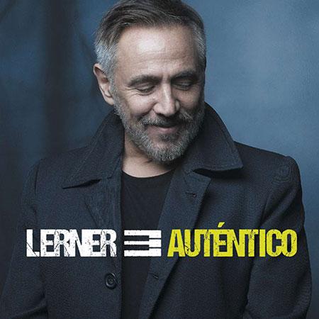Portada del disco «Auténtico» de Alejandro Lerner.