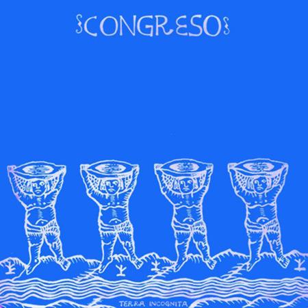 Portada del disco «Terra incógnita» de Congreso.