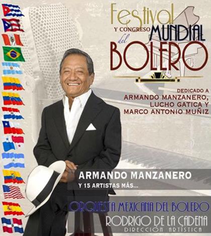 Festival y Congreso Mundial del Bolero México 2016