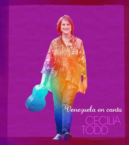 Portada del disco «Venezuela en canto» de Cecilia Todd.