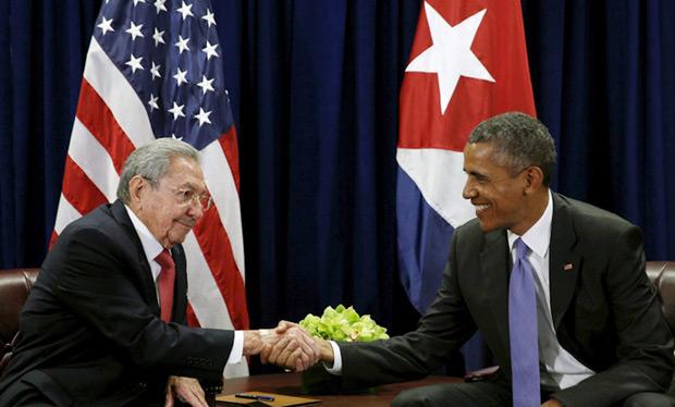 Raúl Castro y Barack Obama. © Reuters