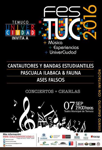 III fesTUC Temuco 2016.