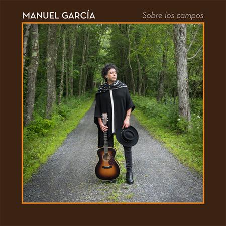 Portada del single «Sobre los campos» de Manuel García.
