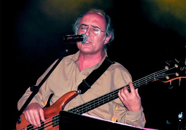 Jordi Clua en el homenaje que se le dedicó a su hermano el 4 de noviembre de 2011 en la sala Luz de Gas de Barcelona. © Manel Gausachs