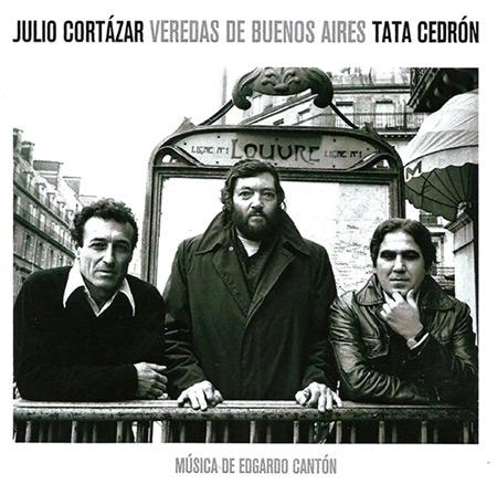 Portada del disco «Veredas de Buenos Aires» del Cuarteto Cedrón.