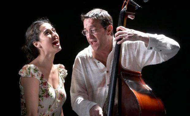 Sílvia Pérez Cruz y Javier Colina.