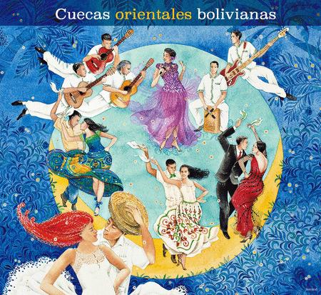 Portada del disco «Cuecas Orientales Bolivianas».