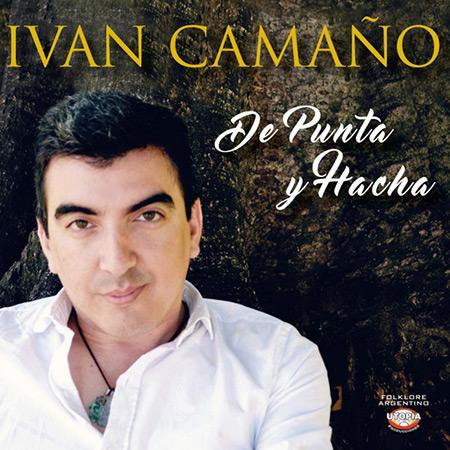Portada del disco «De punta y hacha» de Iván Camaño.