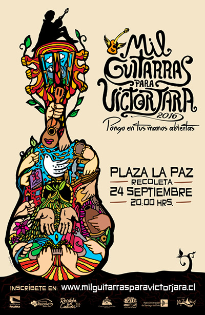 IV Mil Guitarras para Víctor Jara 2016