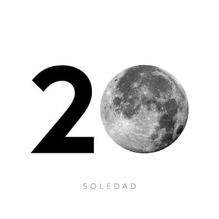 Portada del disco «20 años» de Soledad Pastorutti.