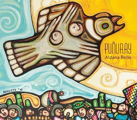 Portada del disco «Puñuray» de Aldana Bello.