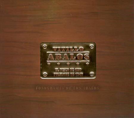 Portada del disco «El disco de oro. Folklore de 1940» de Vitillo Ábalos.