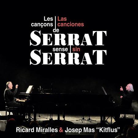 Portada del disco «Las canciones de Serrat sin Serrat» de Josep Mas «Kitflus» y Ricard Miralles.