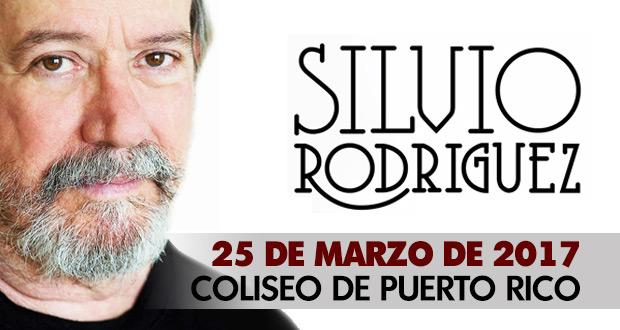 Silvio Rodríguez en el Coliseo José Miguel Agrelot de San Juan de Puerto Rico.